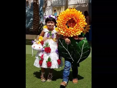 DIY Flower Headpiece. DIY Flower Costume