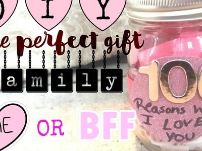 DIY Gift Idea | ♡ Reasons Why I Love You Jar ♡