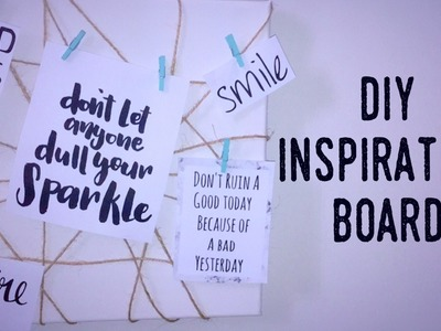 Diy Inspiration Board | Tumblr Inspired