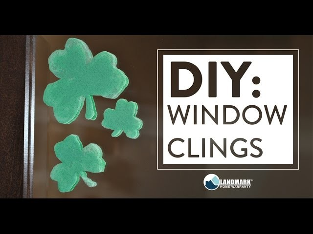 DIY: Make Your Own Window Clings