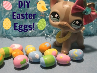 DIY Mini Easter Eggs for LPS & Dolls || Easter Crafts || Part 1