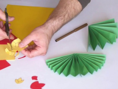 Diy paper crafts  How to make paper flowers