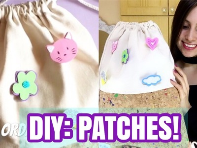DIY: Patches! | Super Easy !! | ORDANI DIY