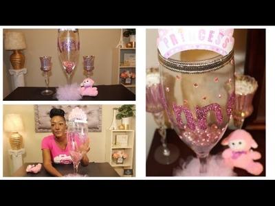 DIY: Princess Theme Birthday Party Centerpiece | Girl's Birthday | Baby Shower | Dollar Tree