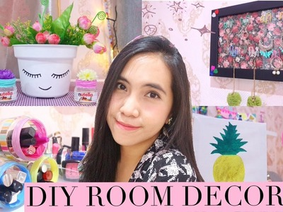 DIY ROOM DECOR #4 - DIY Room Decorating Ideas