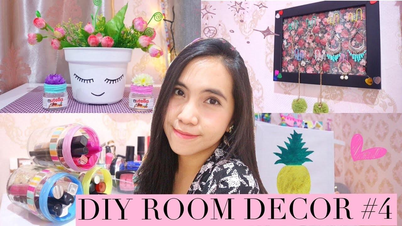 DIY ROOM DECOR #4 - DIY Room Decorating Ideas
