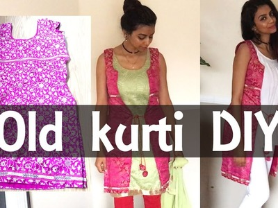 """""""DIY"""" turned old kurti into jacket for traditional as well western outfits :) in very easy steps :)"""