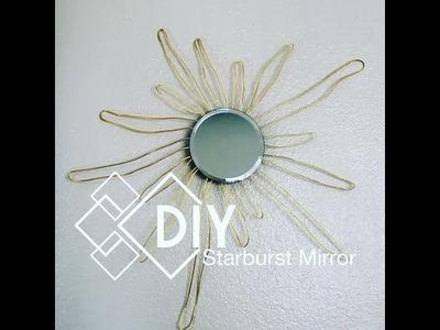 Dollar Tree DIY | $4 Starburst Mirror