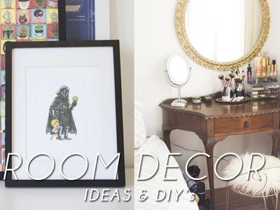 Easy & Cheap DIY room decor   pinterest inspired!