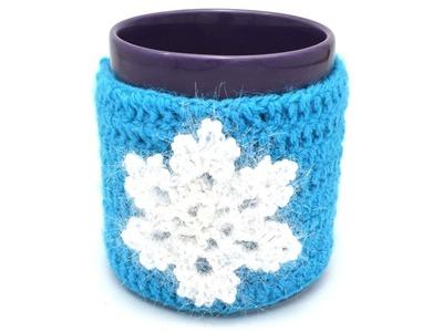 How to crochet a Mug Warmer.Cozy Cup