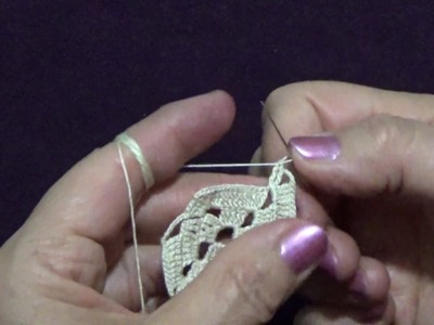 How to Crochet a  Square Doily 4.6