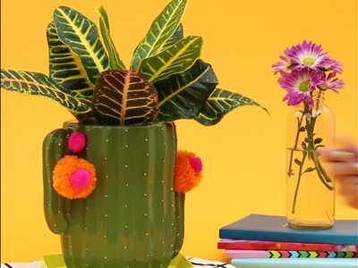 How to DIY a Cookie Jar Planter