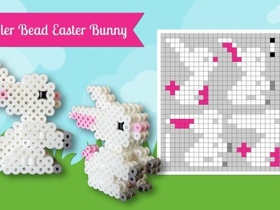How To Make A Cute Perler Bead 3D Easter Bunny