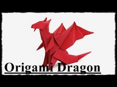 How to Make a Paper Dragon That can Fly Easy | Origami Dragon