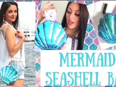 How to make a Seashell Bag - Holographic mermaid DIY