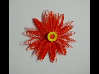 How to make beautiful flower by paper Quilling
