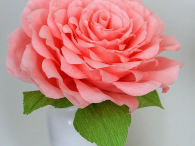How to Make Giant Paper Rose