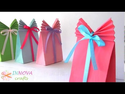 How to make paper bags, DIY Crafts