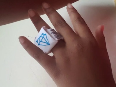 How to make paper jewelry! (ring and bracelet)|FizzzMan