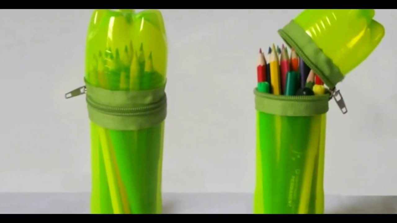 How to make useful items from waste bottles my crafts for Waste to useful crafts