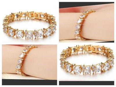 Latest Designer Bracelet for women, DIY very easy to do  March - 30 - 2017