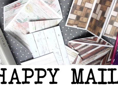 Making Happy Mail Blanks With 12 x 12 Paper! | MyGreenCow