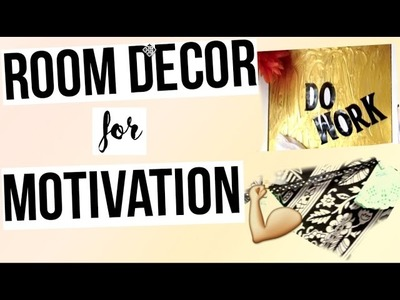 Motivational Wall Decor & DIY Room Decor for motivation : DIY Motivational Quote Art Quote Wall Art