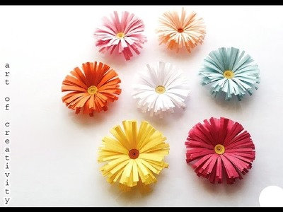 Origami Flower Very Easy Ideas on paper