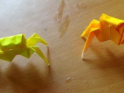 Paper folding Art  - How to make an Origami Crab