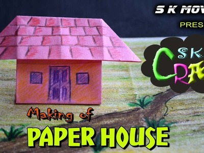 Paper House Origami | Easy Craft Making