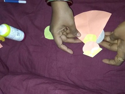 Paper JOKER TOY making.paper art.easy to make paper toy