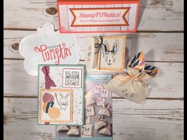Stampin'UP!   Paper Pumpkin   March 2017 Bonus Tutorial