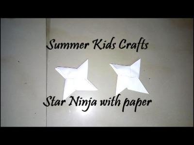 Star Ninja with Paper  || BLUC # 53
