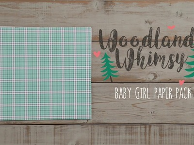 Woodland Whimsy Baby Girl Paper Pack | Creative Memories Australia