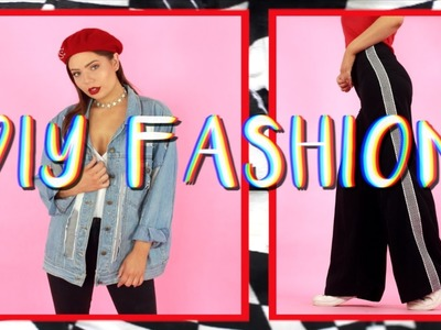 5 Easy DIY Clothing Upgrades   Fashion Hacks