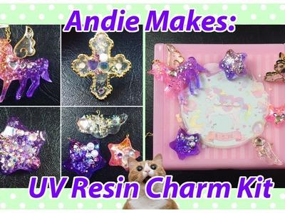 Andie Makes: UV Resin Charm Kit Tutorial! (Sophie and Toffee)