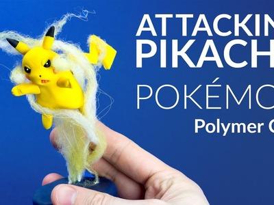 Attacking Pikachu (Pokemon) – Polymer Clay Tutorial