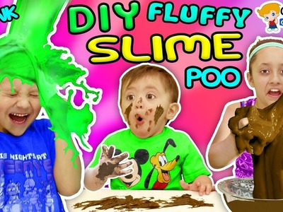 BAD BABY EATS POOP! DIY Fluffy Slime Prank w. Chocolate (Chase's Corner #49 DOH MUCH FUN)