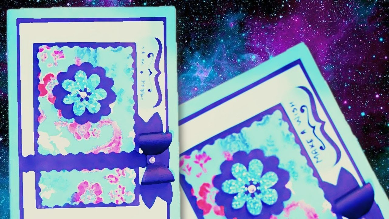 Beautiful and Easy Birthday Card DIY