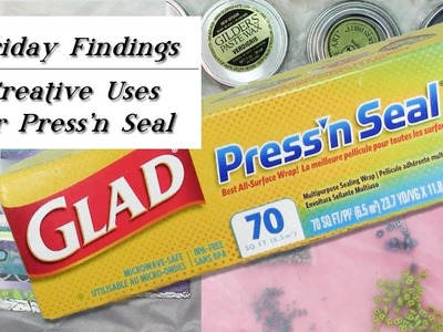 Creative Uses For Press'n Seal With Jewelry & Polymer Clay-Friday Findings