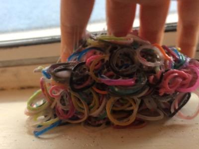 Crunchy Rainbow Loom Band Slime?