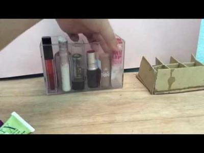 Diy#3  How I Organize My Makeup Collection????Cách sắp xếp đồ Makeup????| By July |