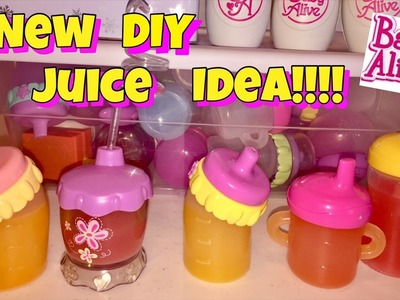 DIY Baby Alive JUICE ALTERNATIVE without using markers or dye ????????????
