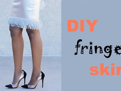 DIY: Fringe Skirt | Refashion