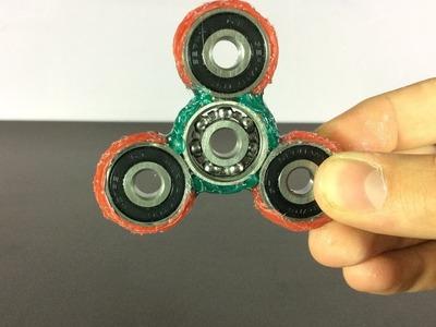 DIY | Hot Glue Spinner Fidget Toy ! (Part 3)