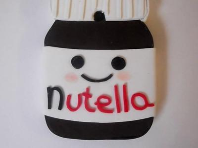 DIY ~ How to make a Nutella cover ~ Cover Nutella fai da te