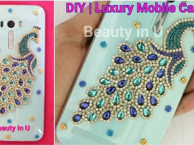 DIY | Luxury Designer Handmade Mobile Phone Case (for iPhone or any Mobile) making at Home|Tutorial