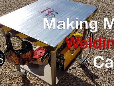 DIY - Making A Welding Cart. Welding Table