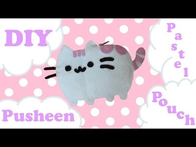 ❤ DIY Pastel Pusheen Pouch! Easy And Cute! ❤