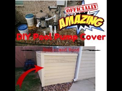 DIY Pool Pump Cover